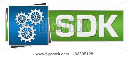 SDK Green Blue Horizontal