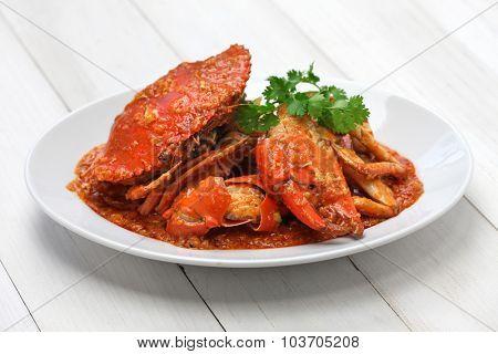 chilli mud crab, singapore cuisine