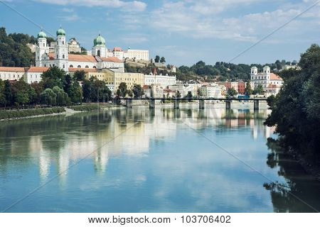 Beautiful Passau, Lower Bavaria, Germany