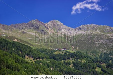 The Oetztal valley