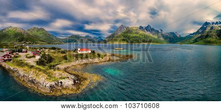 Church On Lofoten Islands