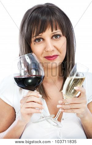Comparing Red And White Wine