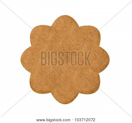 Christmas Cookie Isolated On A White Background