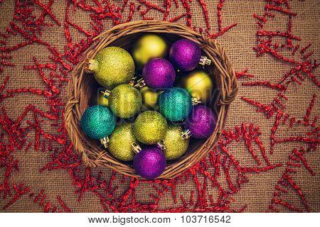 Colored Christmas Ball