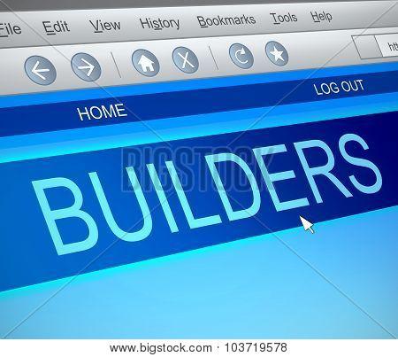 Builders Concept.