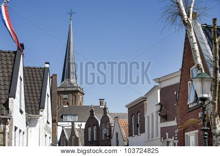 Typical Dutch Village Center