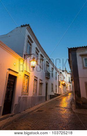 Night narrow street