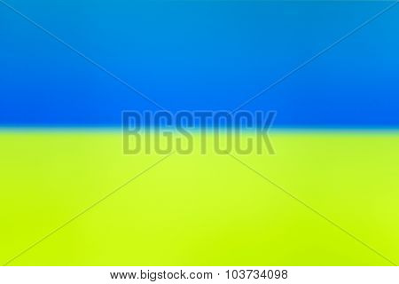 Blue Yellow Interlaced Tv Static Noise