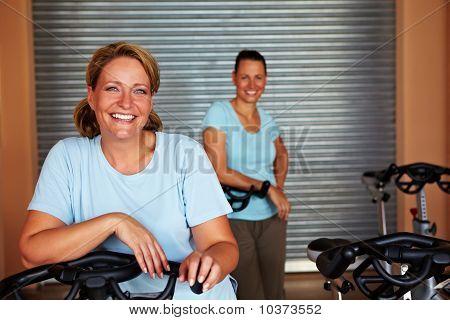 Two Women In Room