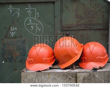 Working Helmets