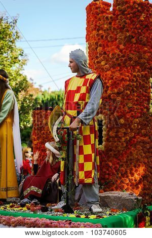 Editorial, 4 October 2015: Barr, France: Fete Des Vendanges