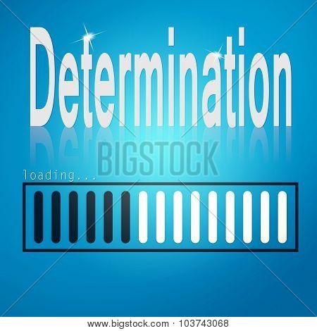 Determination Blue Loading Bar