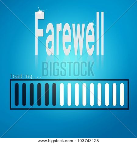 Farewell Blue Loading Bar