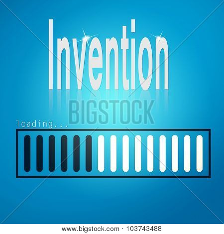 Invention Blue Loading Bar
