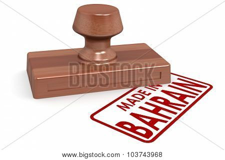 Wooden Stamp Made In Bahrain