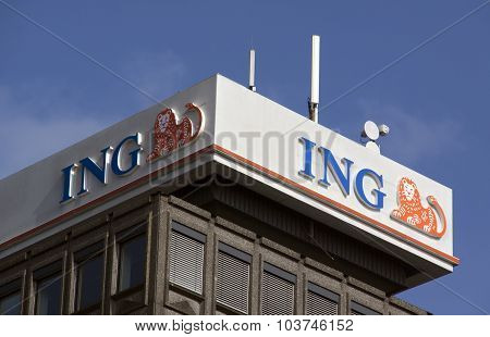 Ing Bank In Amsterdam