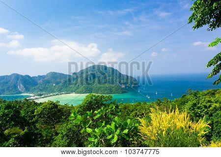 Heaven Seascape Exotic Backdrop