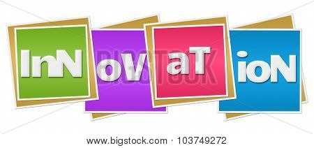 Innovation Colorful Blocks