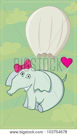 Elephant Parachutist