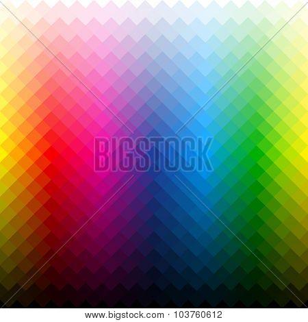 Color palette background. Vector.