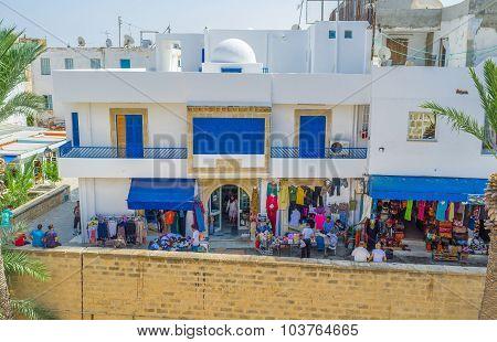 The Shops Around Ribat