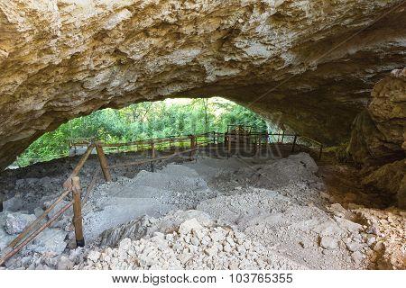 Cave In Bulgaria