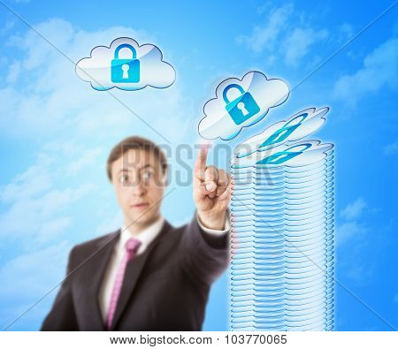 Stacking Cloud Objects In Secure Storage