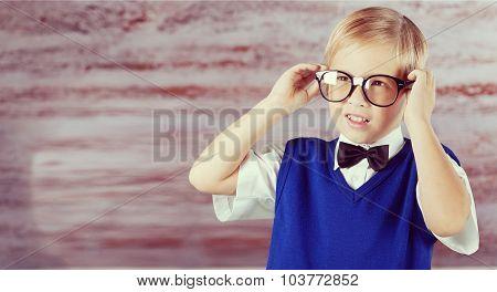 Kid professor.