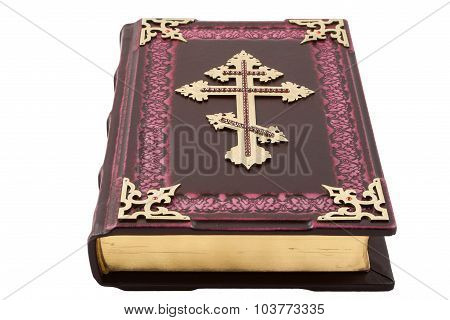 Bible Isolated On White Background