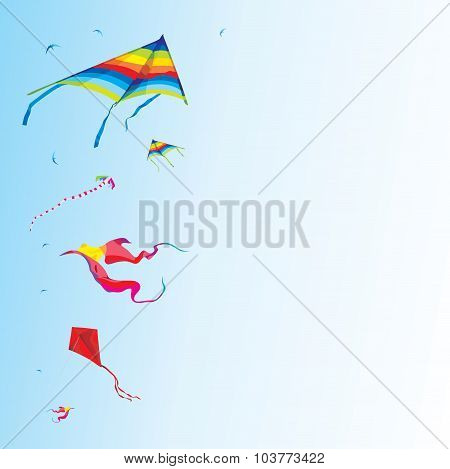 Kite festival background