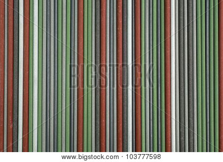 Colorful Welding Electrode Sticks Background