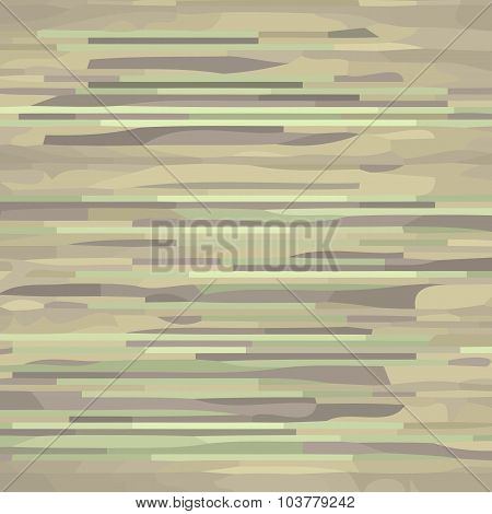 Glitchy striped texture.
