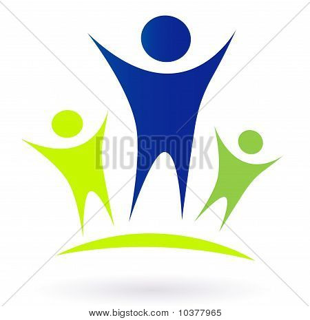 Community - Adult and children vector