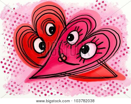 Love Heart Doodles