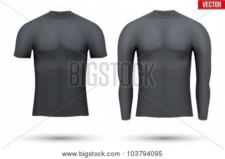 Thermal underwear layer compression shirt