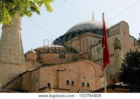 Outside of Hagia Sophia