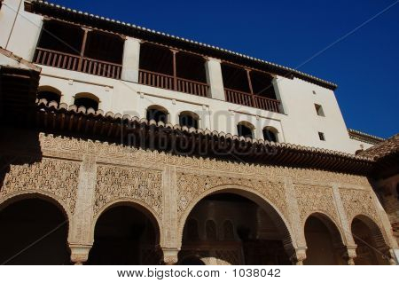 Inside Of Alhambra