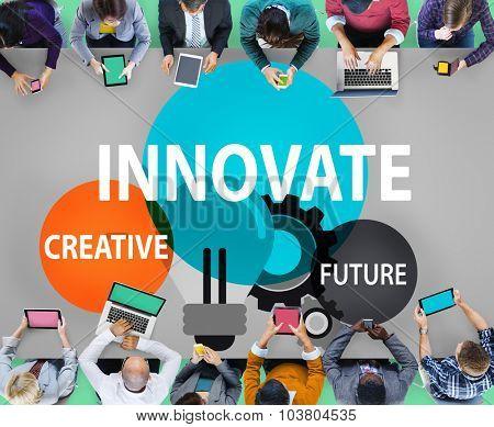 Innovation Creative Future Inspiration Aspiration Concept