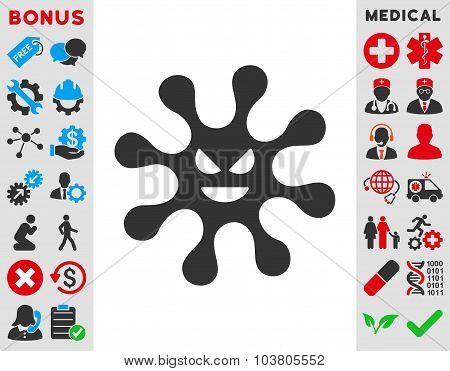 Evil Bacteria Icon