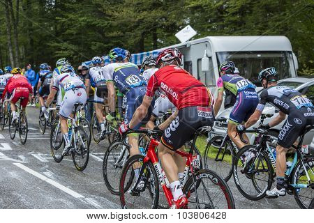 The Peloton - Tour De France 2014