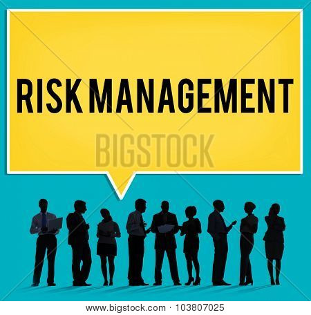 Risk Management Hazard Dangerous Prevent Protect Concept