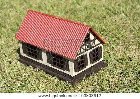 House On Green Grass