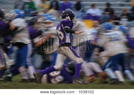 Football Abstract Blur