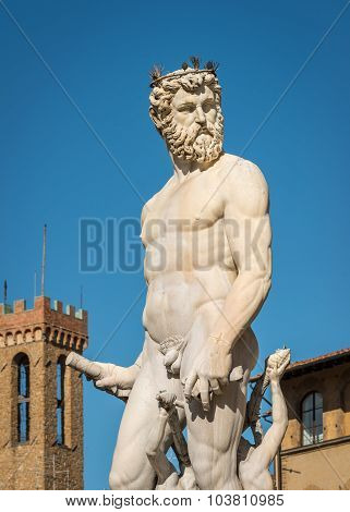 Statue Of Neptune Close-up