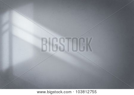 Abstract Background Cement Wall Shadow Light Concept