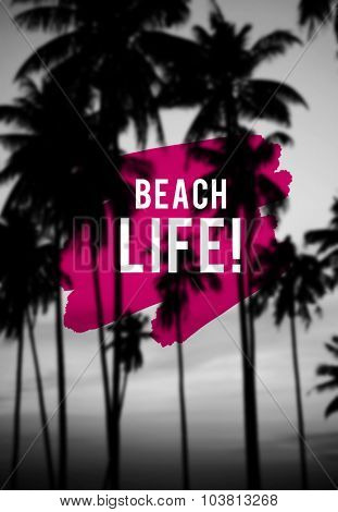 Summer Beach Life Friendship Holiday Vacation Concept