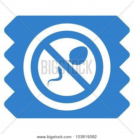 Spermicide Condom Icon