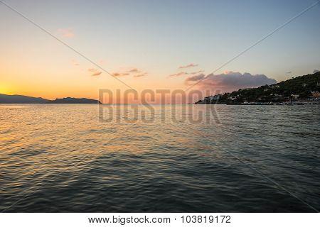 Seascape Near Scala, Greece