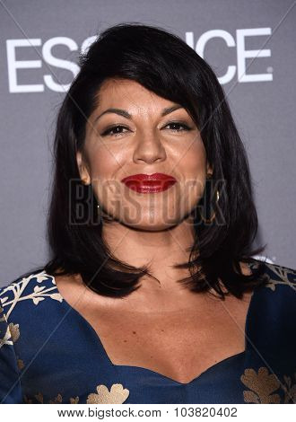 LOS ANGELES - SEP 26:  Sara Ramirez arrives to the TGIT Premiere Red Carpet Event  on September 26, 2015 in Hollywood, CA.