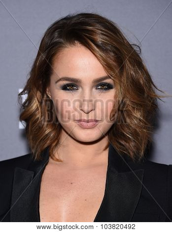 LOS ANGELES - SEP 26:  Camilla Luddington arrives to the TGIT Premiere Red Carpet Event  on September 26, 2015 in Hollywood, CA.